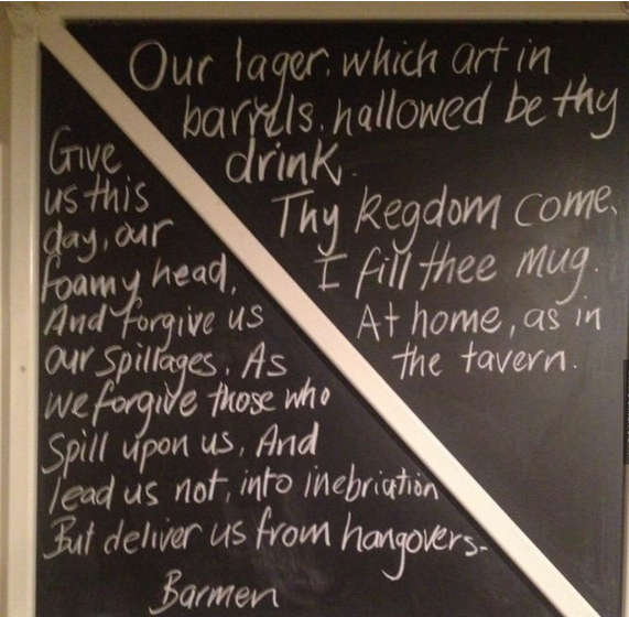 Barmen's prayer