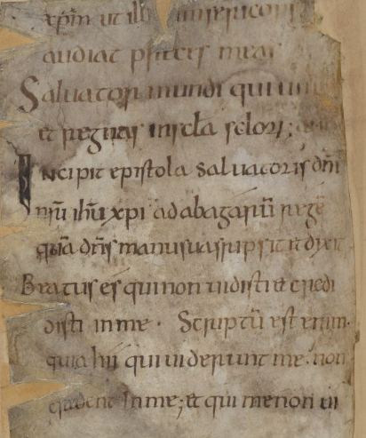London, British Library Cotton Galba A. xiv, fol. 27v
