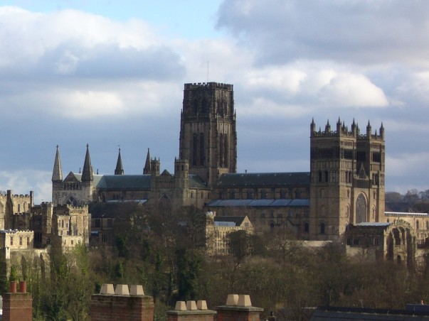 Durham Cathedral close-up