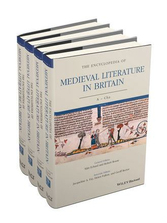 Wiley Blackwell encyc of medieval lit in Britain