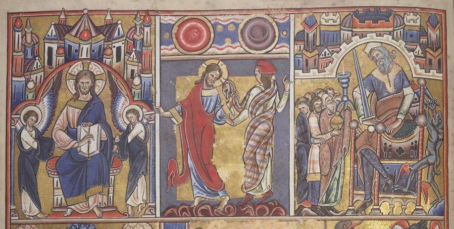 bnf_lat_8846_f005v Canterbury Psalter